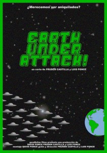 """Earth under attack!!!"""